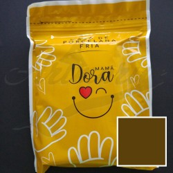 Masa porcelana fría Mama Dora Color Marrón 250g