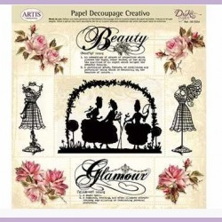 Papel Decoupage Dayka Beauty